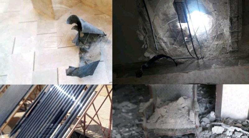 حلب.. سقوط قذائف صاروخية على منازل المدنيين في حي الشهباء