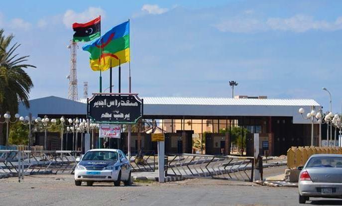 الحدود الليبية