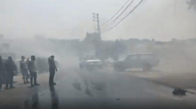 لبنان.. حريق ضخم نشب جنوب البلاد وفرق الدفاع المدني بحالة هلع