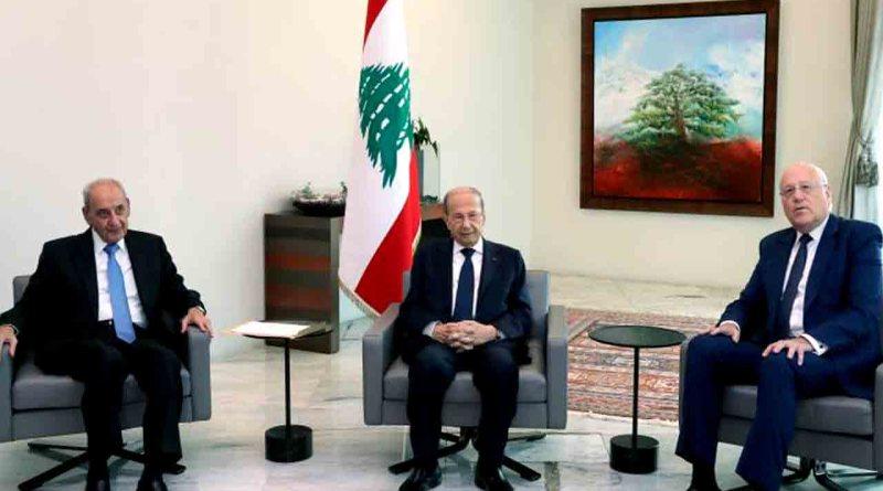 الحكومة اللبنانية الجديدة تشكلت .. عون وميقاتي وقعا المرسوم
