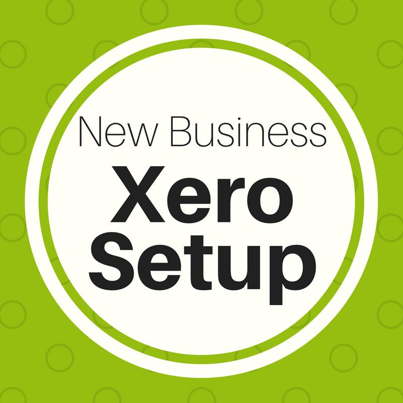 New Business Xero Setup