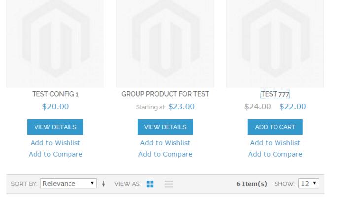 Magento reindex price product
