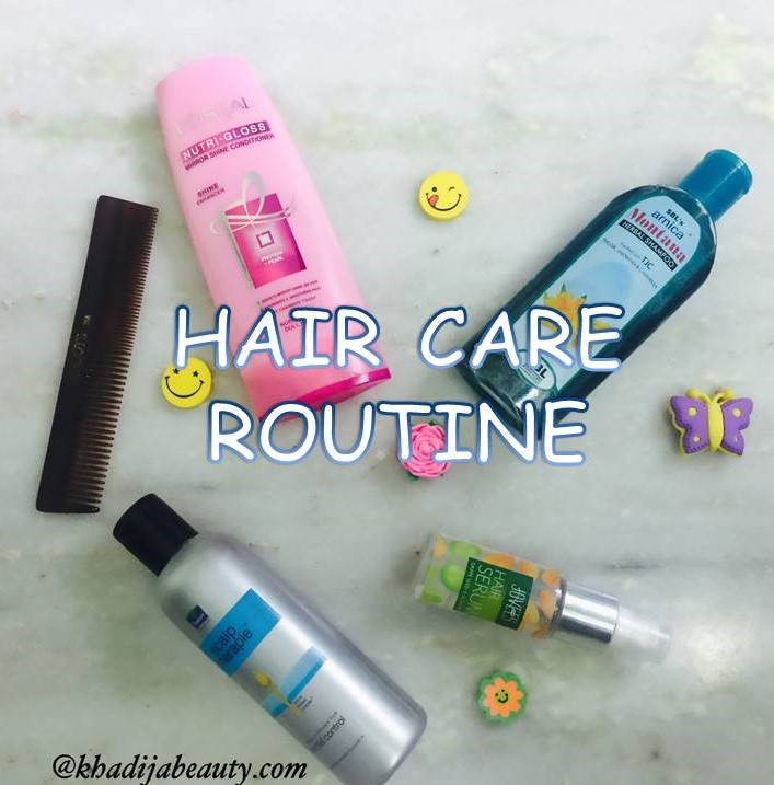 HAIR CARE ROUTINE- GET RID OF DANDRUFF AND HAIR FALL