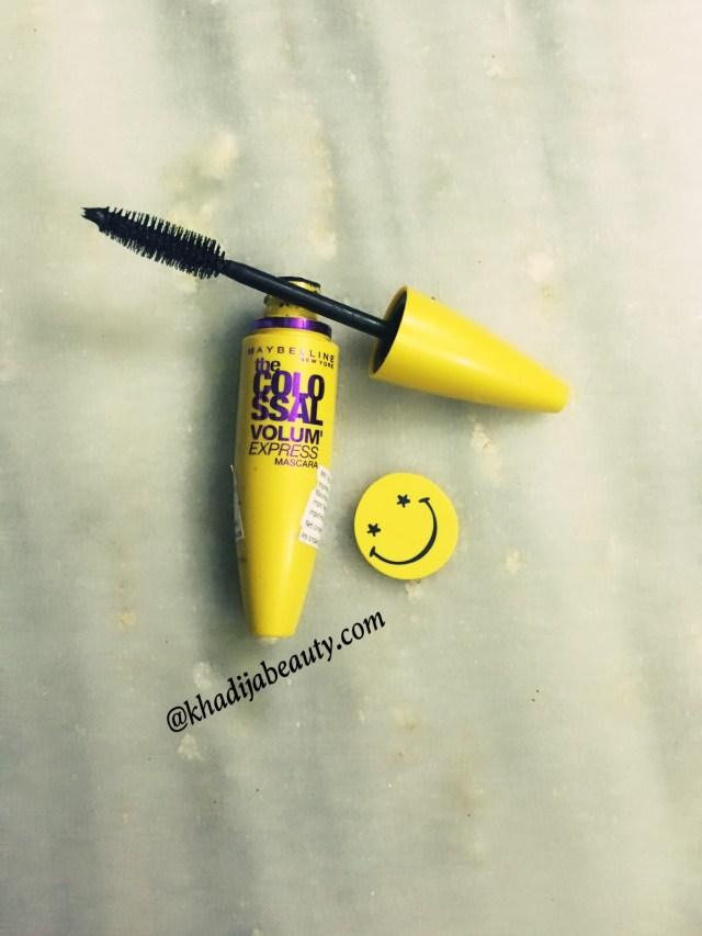 maybelline masacra volume express, khadija beauty, waterproof mascara