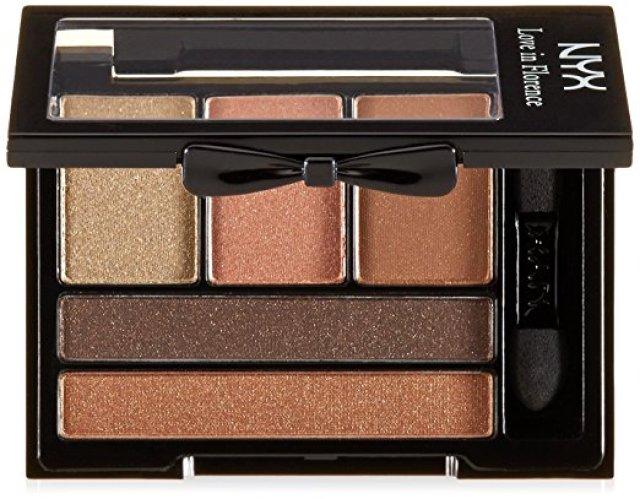 NYX Cosmetics Love In Florence Eyeshadow Palette Bellini Kiss