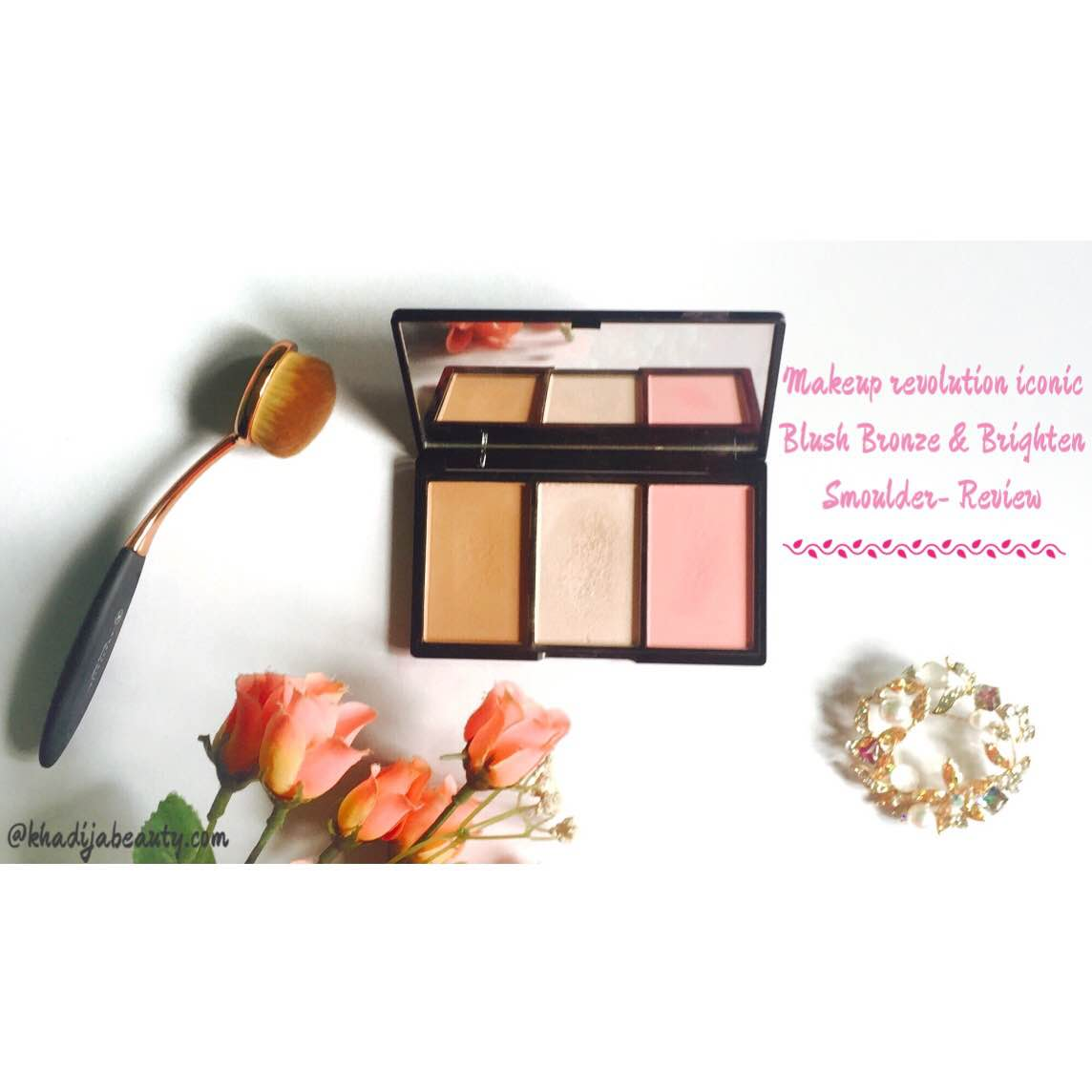 Makeup Revolution Iconic Blush Bronze and Brighten Smoulder- Review