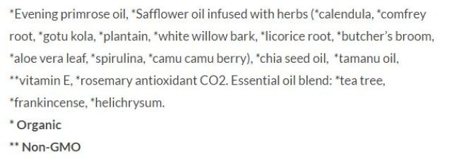 ingredients miracle oil