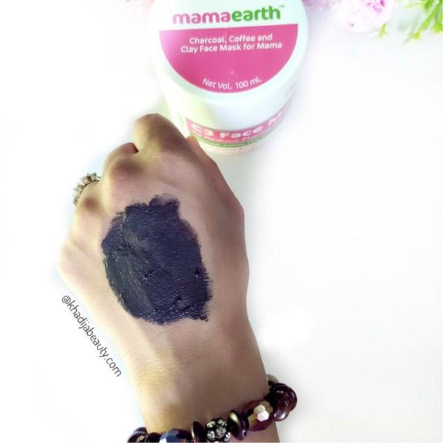 mamaearth C3 face mask, khadija beauty
