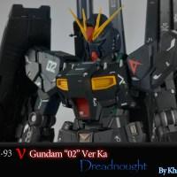 "MG RX-93 Nu Gundam Ver. Ka ""Dreadnought"""