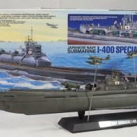 Tamiya 1/350 IJN I-400 Submarine Special Edition