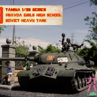 Tamiya 1/35 IS-3 Pravda Edition (Girls und Panzer)
