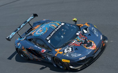 Khaled Al Mudhaf leads Kuwait in prestigious Gulf 12hr Endurance race with McLaren 12C GT3