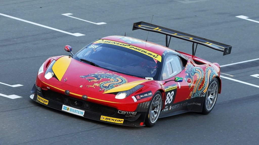 Khaled confirms Dubai 24hr entry with Dragon Racing Ferrari 458 GT3