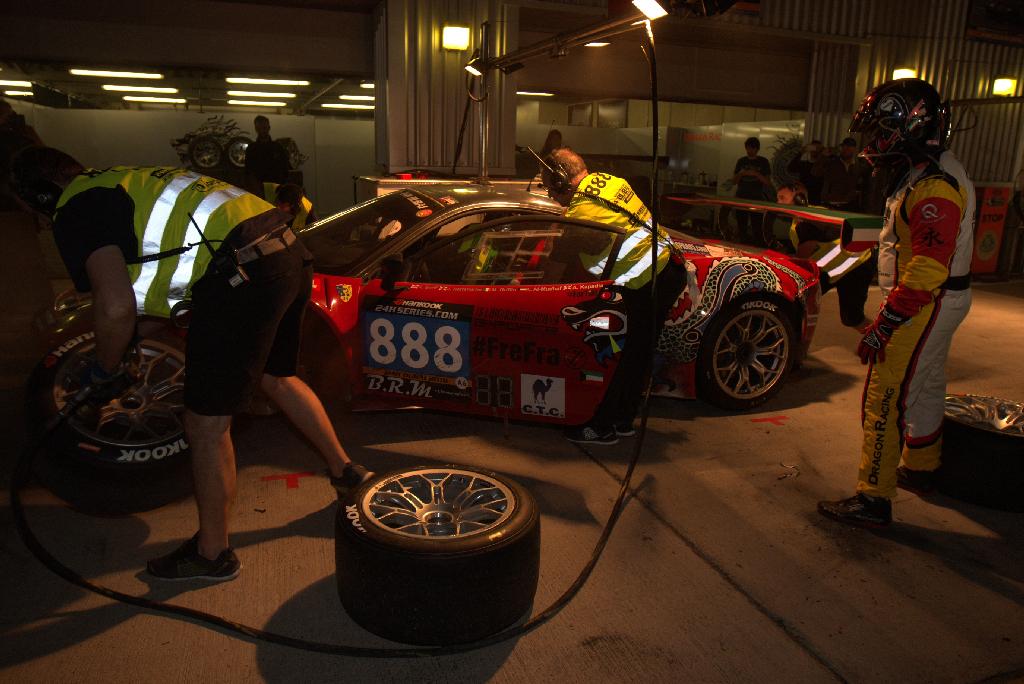 Dubai 24H 2016 Dragon Racing Ferrari458 GT3 35