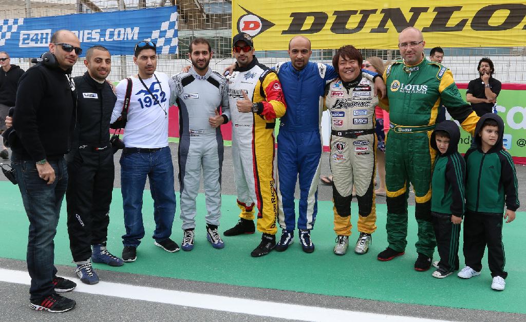 Dubai 24H GT3AM Class Winners 2014 -24