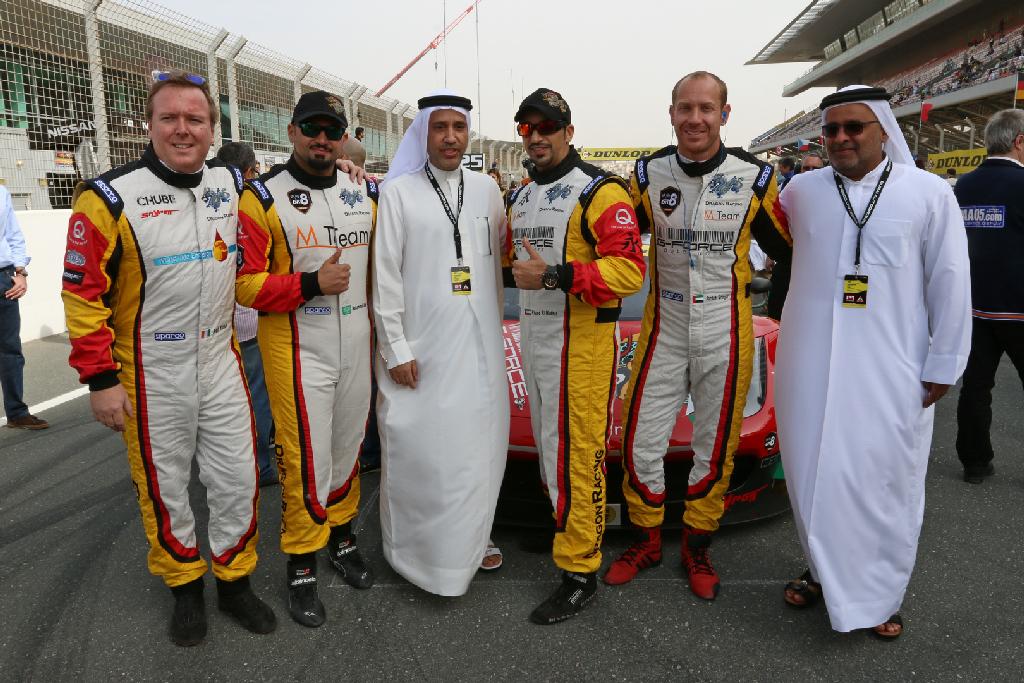 Dubai 24H GT3AM Class Winners 2014 -27