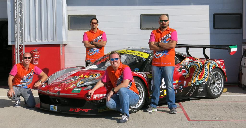 Dubai 24H GT3AM Class Winners 2014 -4