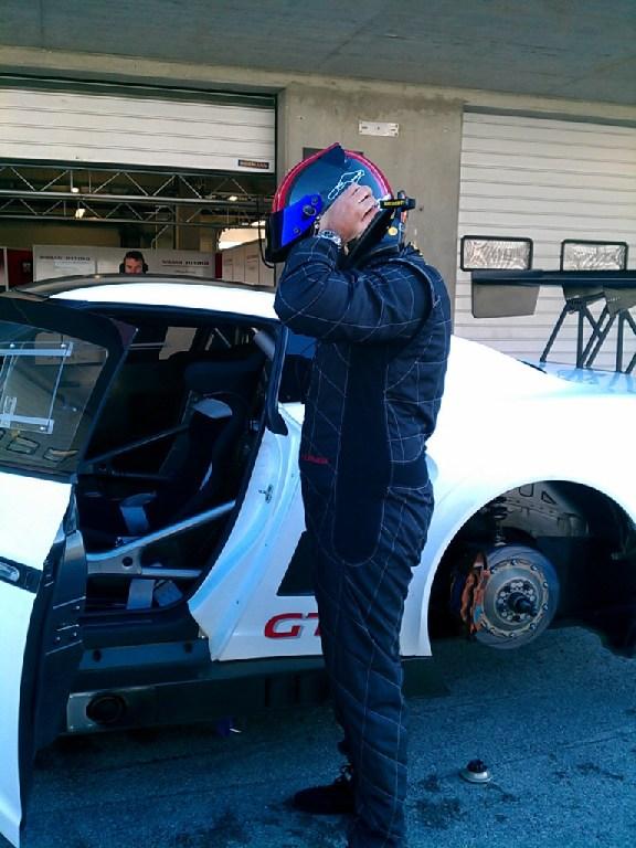 Nissan NISMO GT3 test Portimao 2012-11
