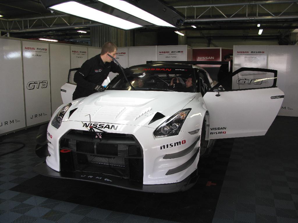 Nissan NISMO GT3 test Portimao 2012-15