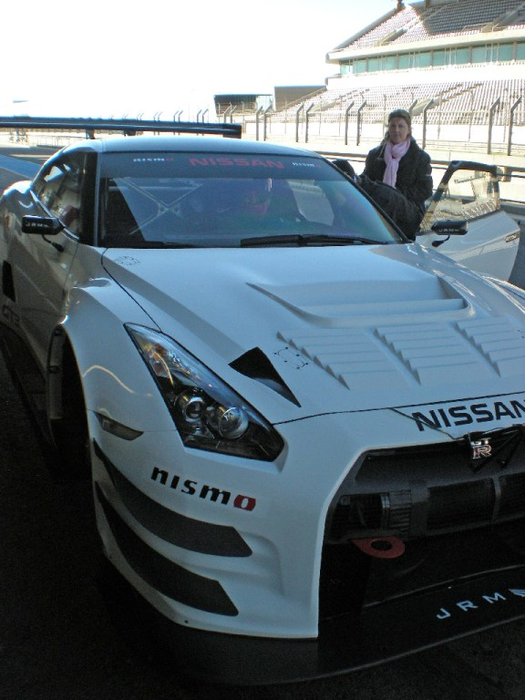 Nissan NISMO GT3 test Portimao 2012-3