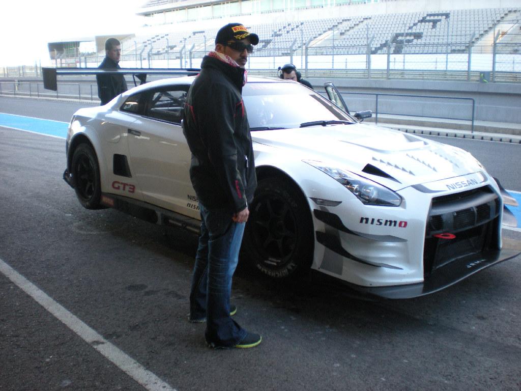 Nissan NISMO GT3 test Portimao 2012-8