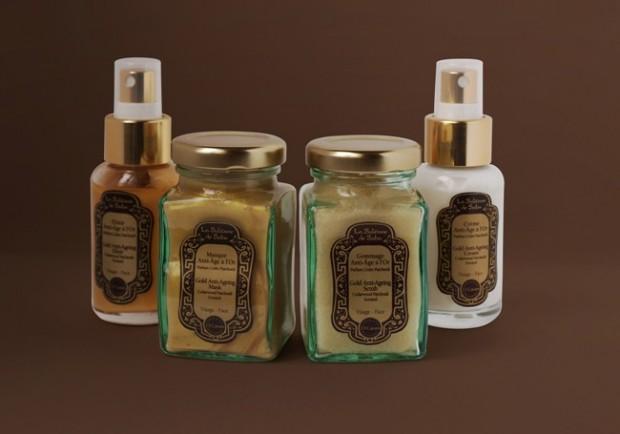 the midas touch la sultane de saba 23 carat gold treatment khaleejesque. Black Bedroom Furniture Sets. Home Design Ideas