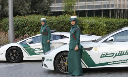 Lamborghini Aventador Added to the Super Police Cars of Dubai