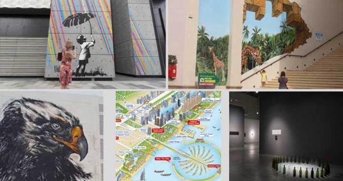 Street Art And Graffiti Art In Dubai by World's Renowned Artists