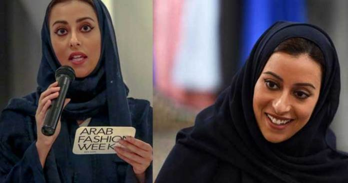 Princess Noura, the new face of Saudi Fashion