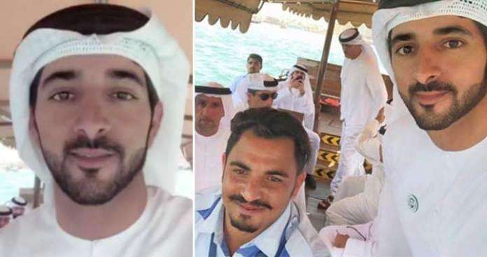 Sheikh Hamdan Surprises an Abra Driver with a Trip Across Dubai Creek
