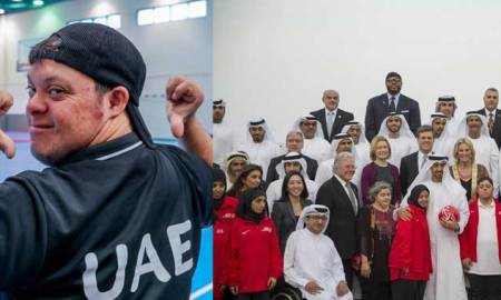 Sheikh Mohammed bin Zayed congratulated UAE's Special Olympics Team