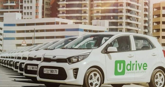 Udrive has launched 'Rent a Car per Minute' in Sharjah