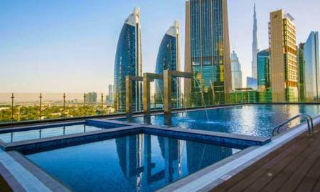 World's Tallest Hotel, 'Gevora Hotel' opens Pool Side for Public