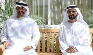 Dubai Ruler meets Sheikh Mohamed bin Zayed in Abu Dhabi
