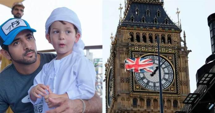 Sheikh Hamdan Had a Touching Message for London's Big Ben