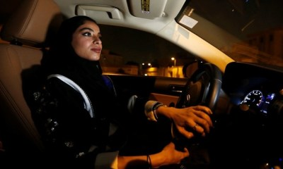 Women Take the Wheel as Driving Ban Lifted in Saudi Arabia