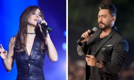 Nancy Ajram and Tamer Hosny Live in Abu Dhabi on New Years Eve