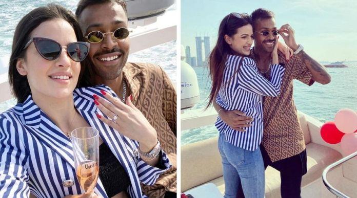 Hardik Pandya engaged to Natasa Stankovic in Dubai