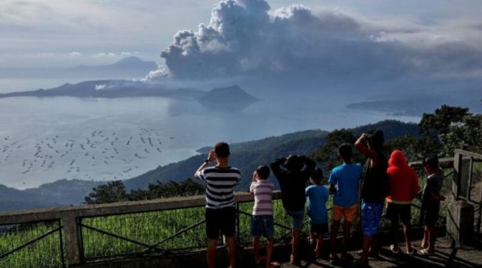 Philippines warns of 'explosive eruption' after Taal Volcano