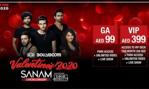 Sanam ft. Sanah Moidutty to perform at Bollywood Parks Dubai