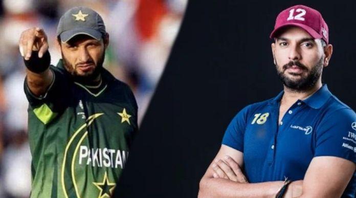 Yuvraj and Afridi to mentor teams at Expo 2020 cricket final