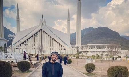 khalid al ameri visiting pakistan