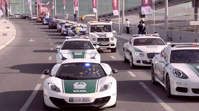 Dubai Police Adds 5G enabled Supercars to its Patrol Fleet