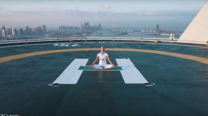 Get a Chance to Do Yoga on Burj Al Arab's Helipad