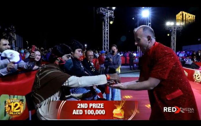 Hedayatullah Khan, Pakistani expat winner of big ticket