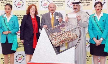 One-year-old Indian Baby wins $1m at Dubai Duty Free raffle