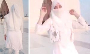 TikTok Video of Dancing Girl at Mazar-e-Quaid Pakistan goes Viral