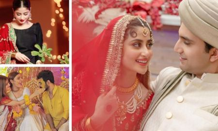 Ahad Raza Mir married Sajal Aly in Abu Dhabi, UAE