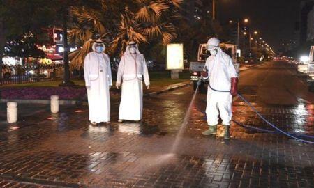 Coronavirus clean-up operation in Dubai on full scale