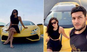 Krishna Shroff on vacations with boyfriend Eban Hyams in Dubai